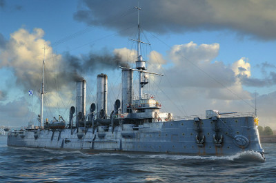 Крейсер Аврора в World of Warships