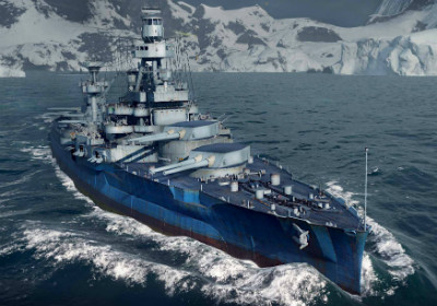 Линкор в World of Warships