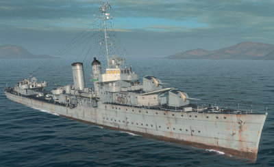 Farragut в World of Warships