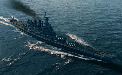 North Carolina в игре World of Warships