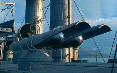 Торпеды в World of Warships