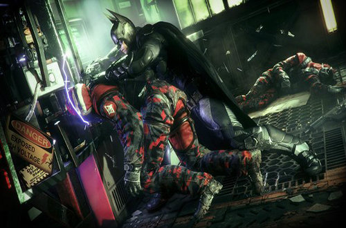 Бой в Batman Arkham Knight