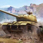 Три танка в игре World of Tanks