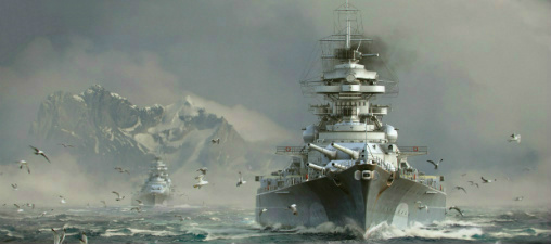 Корабли в World of Warships