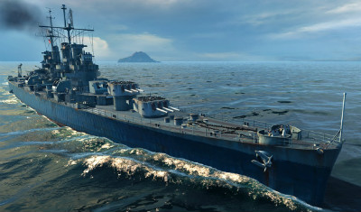 Cleveland в World of Warships