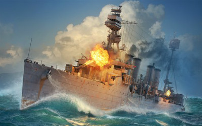 Корабль в World of Warships