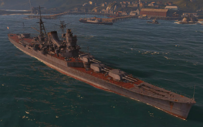 Mogami World of Warships