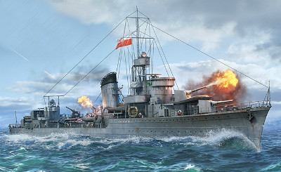 Польский эсминец World of Warships
