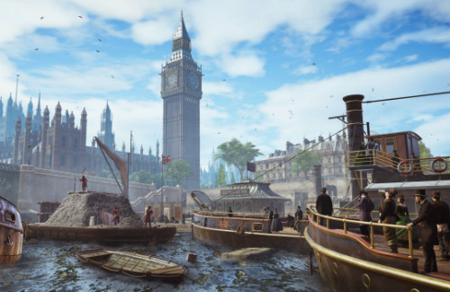 Графика в Assassin's Creed Syndicate