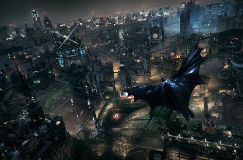 Город в Batman Arkham Knight