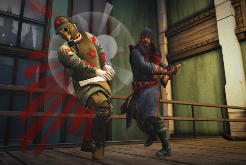Бой в Assassins Creed Chronicles Russia