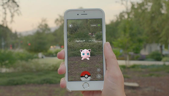 Ловля Jigglypuff в Pokemon Go
