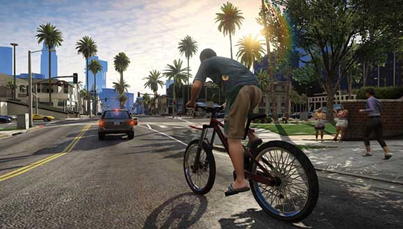 Bike Thief City в GTA 5