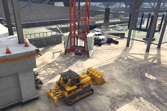 Construction Accident в GTA 5