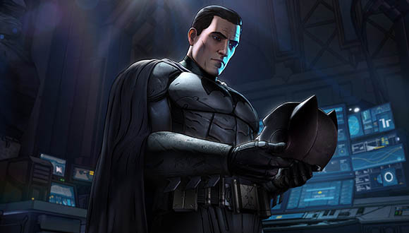 Бэтмен снял маску в Batman The Telltale Series